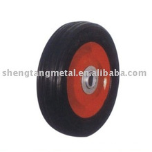 6 Inches Solid Rubber Wheel SR0601 For Hand Truck