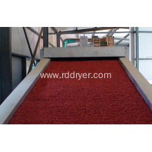 Belt drying furnace, puffed feed dryer, puffed feed drying equipment
