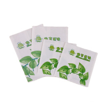 Low cost recycled brown kraft paper bag safety material custom design eco friendly food packaging