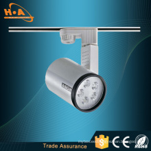 7*1W Small Cylinder SMD Commercial Lighting LED Track Light