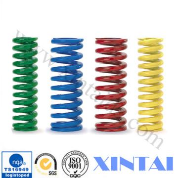 Molas de compressão de bobinas de aço personalizadas de venda quente