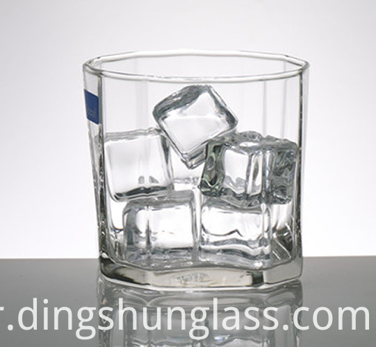 Small and stylish glass cups