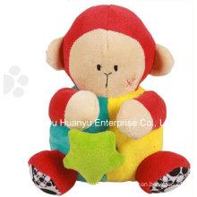 Fábrica de suministros de bebé movimiento musical juguete de peluche