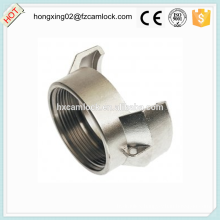Aluminum guillemin coupling female without latch, french coupling