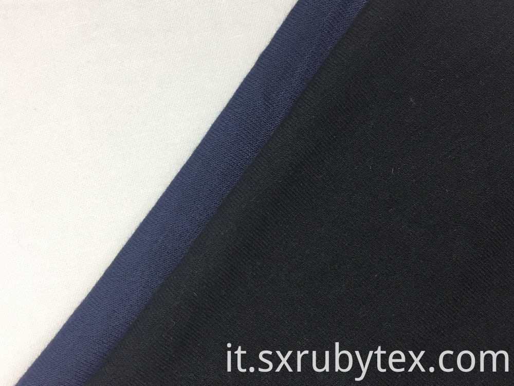 Rayon Spandex Single Jersey Solid Fabric