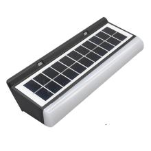 Luz solar noturna com painel solar