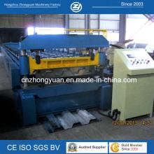 Machine de formage de rouleaux de plancher de plancher en métal