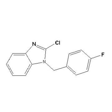 1- (4-Fluorobenzyl) -2-Chlorobenzimidazole CAS No. 84946-20-3