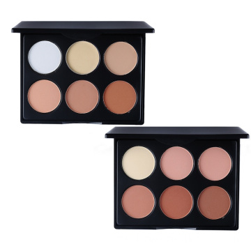Private Label OEM multicolor Bronzer paleta de colorete