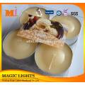 Custom Made Tea Light Candles Packaging PVC Gift Box