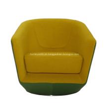 Cadeira giratória de tecido com design exclusivo