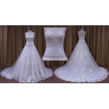 Vestido de noiva sem alças vestido de noiva deslumbrante
