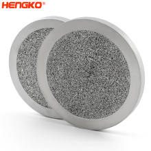 Sintered porous metal stainless steel 304/316L wire mesh powder sintering filter disc  stainless steel disc filter