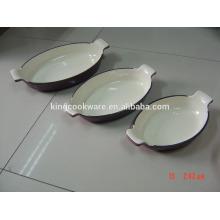 cookware enamel coating cast iron casserole /pot