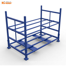 Powder coated foldable heavy stacking the tire rack