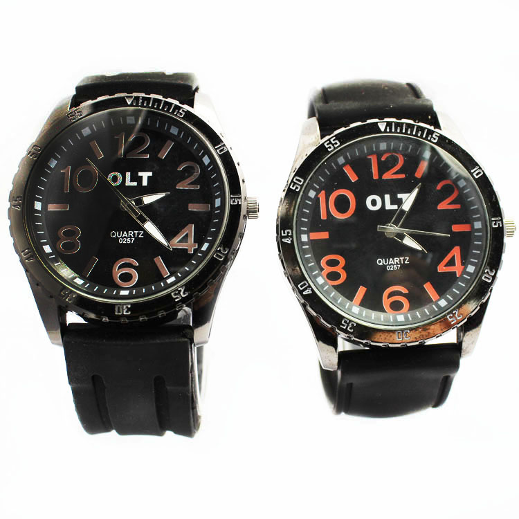 silicone watches for men