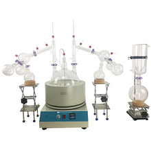 Lab use Chemical  10l 20L Short Path Distillation turnkey