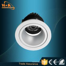 Fonte luminosa da ESPIGA para a luz comercial da arruela da parede do diodo emissor de luz da iluminaço