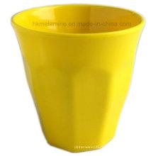 Tasse de mélamine de couleur solide avec un bon design (CP7297)