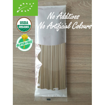 Pasta de arroz orgánico natural