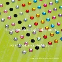 Colar de diamante colorido com alta qualidade para personalizado
