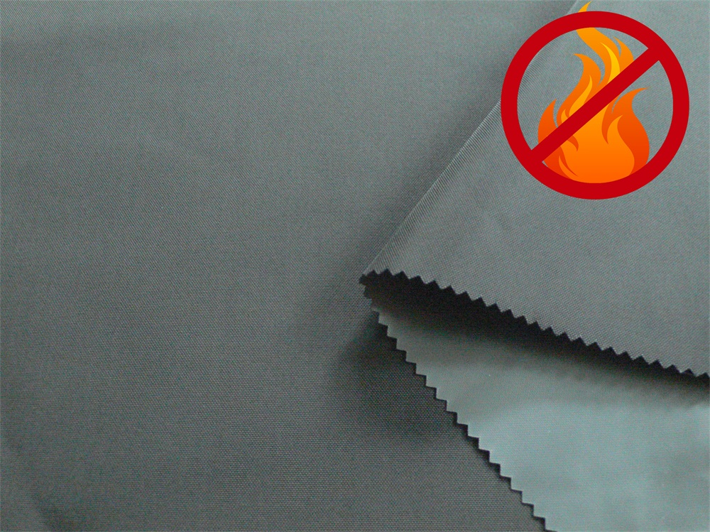 Nylon 66 PU Coated Flame Retardant and Waterproof Fabric for Vest