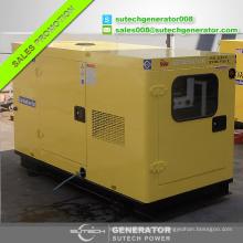 Gute Qualität schallisoliert 15kva / 12kw Doosan Daewoo Generator Preis