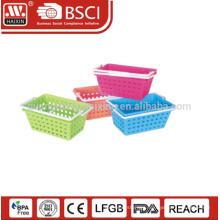 Eco-friendly 2PCS portable handle basket for camping customized colors empty picnic basket