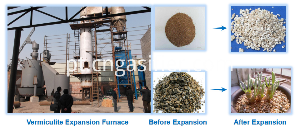 Vermiculite Expansion Furnace