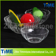 Großhandelsklare Kristallglas-süße Schüsseln