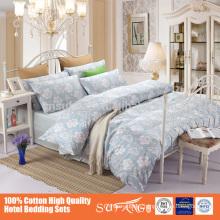 60S 100% Cotton reactive Printed Floral Pattern Duvet Set, All Sizes & Colors