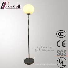 Modern Hotel Decorative Stainless Steel Round Standing Floor Lamp