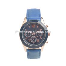Reloj militar de los hombres de cuarzo de los deportes de la moda Reloj famoso de los hombres de los hombres ocasionales de los hombres
