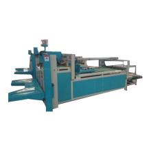 Semi-automatic corrugated cardboard paper folder gluer machine