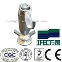 Пробоотборный асептический клапан из нержавеющей стали