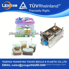 2013 food boxes mould manufacture and PP lunch storage box moulds and Plastic Food Keeping Fresh Box