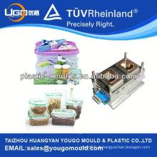 Manufatura de moldes de caixas de alimentos 2013 e moldes de caixa de armazenamento de almoço PP e alimentos plásticos que mantêm a caixa fresca