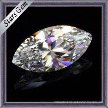 Loose Jewellery Gemstone Aaaaa Белая маркиза Cut CZ
