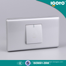 118 Type Silver Color 1 Gang Door Bell Switch