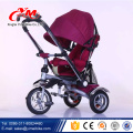 Alibaba tricycle baby 2016 foldable/new design easy fold toddler trike/more color choose 4 in 1 baby tricycle