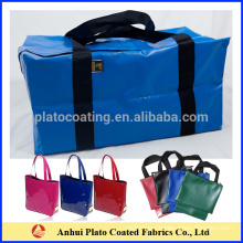 waterproof customized pvc coated bag made in China