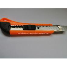 Cuchillo para uso general Cortador de papel Cuchillo de corte de la escuela de la oficina