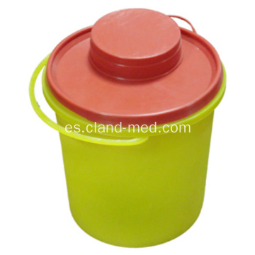 Desechable Medical Sharp Container 1.5L Plastic