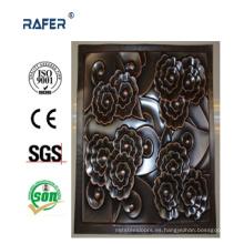 Hoja de acero en relieve profunda de alta calidad con color (RA-C042)