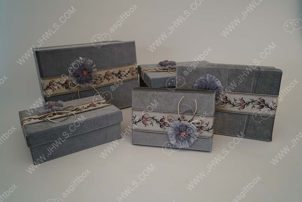 Large flannelette gift box