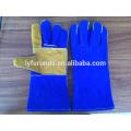 Chine 14 pouces gants de soudure en cuir fou de vache avec classe renforcée de classe AB complète