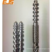 100mm PVC PP bimetallic single extruder screw barrel