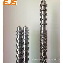 100mm PVC PP bimetálicos extrusora de único parafuso barril