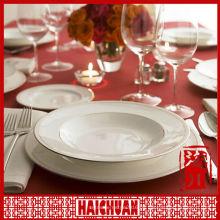 4er Dinner Set Porzellan, Keramik Geschirr, Porzellangeschirr