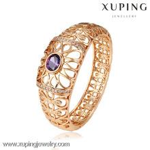 51115 joyería de Xuping diseño simple Brazaletes chapados en oro con la necesidad del partido